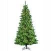 Kurt Adler Pre-Lit 10' Green Sugar Pine Slim Artificial Chirstmas Tree with 1300 Clear Lights