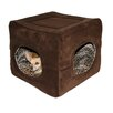 <strong>Hip Doggie</strong> Double Door Safe House 2 in 1 Dog and Cat Bed
