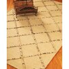 Natural Area Rugs City Limits Cream Geometric Area Rug