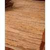 Natural Area Rugs Cardinal Leather Hand Loomed Area Rug
