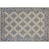G.A. Gertmenian & Sons Winona Blue/ Beige Indoor/Outdoor Area Rug