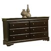 <strong>Chesapeake 6 Drawer Dresser</strong> by Alpine Furniture