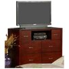 Alpine Furniture Newport 6 Drawer Media Chest