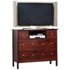 Alpine Furniture Costa 6 Drawer TV Media Chest