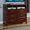 <strong>Carrington 6 Drawer Media Chest</strong> by Alpine Furniture