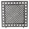 ARTERIORS Home Houston 1 Panel Iron Fireplace Screen
