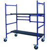 <strong>4' H x 4' W x 1' D Pro-Series Roll and Fold Mini Scaffolding</strong> by Buffalo Tools