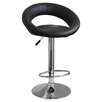 Buffalo Tools AmeriHome Adjustable Height Swivel Bar Stools with Cushions (Set of 2)