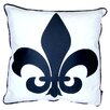 <strong>lava</strong> Fleur De Lis Feather Filled Pillow