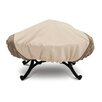 <strong>Classic Accessories</strong> Veranda Collection Large Round Fire Pit Cover in Pebble