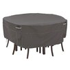 Classic Accessories Ravenna Round Patio Table & Chair Set Cover