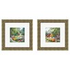 <strong>Pro Tour Memorabilia</strong> Landscape Path 2 Piece Framed Painting Print Set