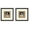 <strong>Pro Tour Memorabilia</strong> Bath Maison 2 Piece Framed Painting Print Set