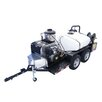 Cam Spray 4000 PSI Hot Water Gas Trailer Mounted Pressure Washer with 24 HP Honda Engine