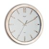 "<strong>Opal Luxury Time Products</strong> 13.6"" Front Ring and Indexes Wall Clock"