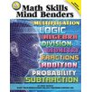 <strong>Math Skills Mind Benders Bb Set</strong> by Frank Schaffer Publications/Carson Dellosa Publications