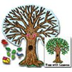 <strong>Bb Set Big Tree Kid-drawn 48 X 54</strong> by Frank Schaffer Publications/Carson Dellosa Publications