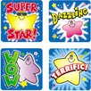 Frank Schaffer Publications/Carson Dellosa Publications Stickers Stars 120/pk Acid & Lignin