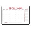 <strong>Monthly Dry Erase Planner 2' x 3' Whiteboard</strong> by Ghent