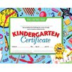 <strong>Kindergarten Certificate</strong> by Hayes School Publishing