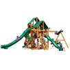 Gorilla Playsets Great Skye II with Amber Posts and Canopy Cedar Swing Set