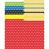 Mini File Folders Assorted Polka