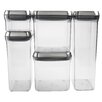 OXO 5 Piece Steel Pop Container Set