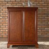 Newport Expandable Bar Cabinet in Classic Cherry