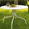 Crosley Griffith Metal Dining Table in White