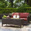Crosley Kiawah 2 Piece Deep Seating Group with Cushions