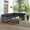 Crosley Biltmore 5 Piece Deep Seating Group with Cushions