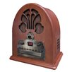 Crosley Old-fashioned Cathedral in Paprika CD / Radio