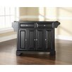 LaFayette Kitchen Island with Granite Top