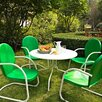 <strong>Griffith Metal 5 Piece Outdoor Dining Set</strong> by Crosley