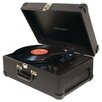 <strong>Traveler Turntable in Black</strong> by Crosley