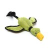 Mini Flying Duck Dog Toy in Green