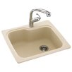 "<strong>Swanstone</strong> Swanstone Classics 25"" x 22"" Single Bowl Kitchen Sink"
