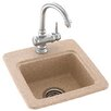 "<strong>Swanstone Classics 15"" x 15"" Small Bar Sink</strong> by Swanstone"