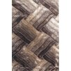 YumanMod Glam Beige/Brown Area Rug