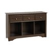 Prepac Living Room 3 Drawer Console Table