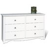 <strong>Prepac</strong> Monterey Condo 6 Drawer Dresser