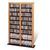 Prepac Double Barrister Multimedia Storage Rack
