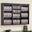 Prepac Floating Wall Mounted Triple Multimedia Storage Rack