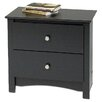 <strong>Sonoma 2 Drawer Nightstand</strong> by Prepac