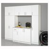Elite Garage/Laundry Room Broom Cabinet