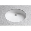 Toto Dantesca ADA Compliant Undermount Bathroom Sink with SanaGloss Glazing