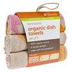 Full Circle Evening Flight Organic Cotton Dish Towel (Set of 6)