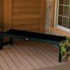 Highwood USA Lehigh Backless Synthetic Wood Picnic Bench