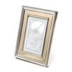 <strong>Lawrence Frames</strong> Brushed Gold Inner Panel Metal Picture Frame