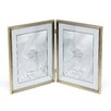 Traditional Hinged Double Picture Frame